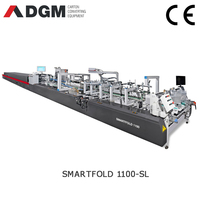 SMARTFOLD 1100SL carton automatic folder gluer machine