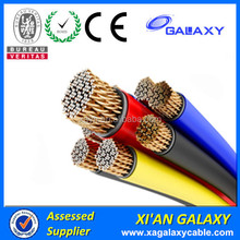 450V 750V Stranded Copper Core Cables16mm/PVC Wire Cable 35mm/Solid Core Copper House Cables