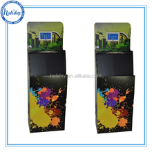 Point of Purchase Retail Store Display with Video Screen,Retail Dump Bin Displays with Led Screen