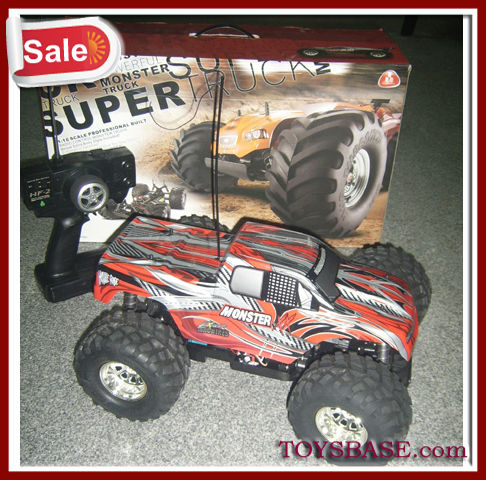 1/10 scale 4x4 rc truck