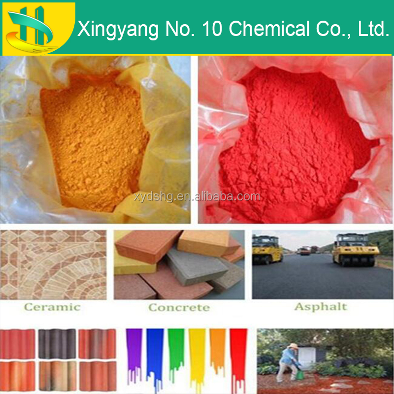 cement/brick tile used iron oxide pigments manufacturer
