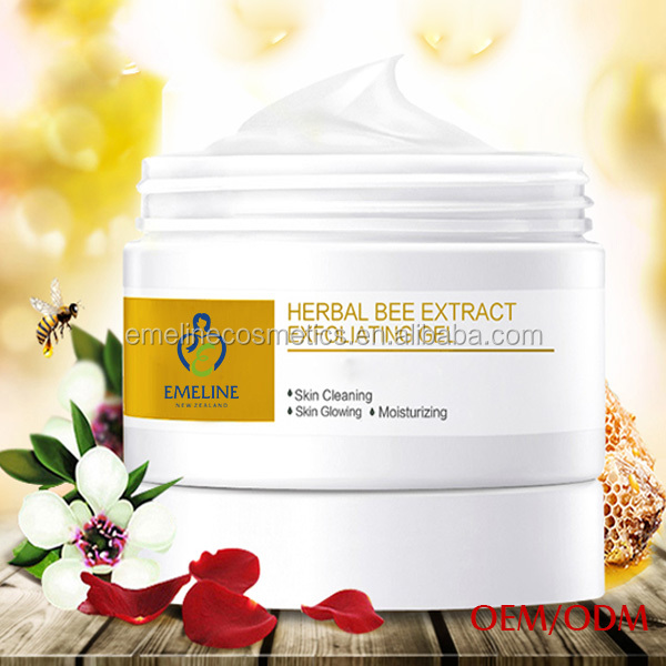 HERBAL bee extract moisturizing Exfoliating gel