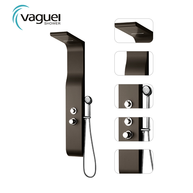 2018 China Supplier Stainless Steel High Quality Rain Shower Panel