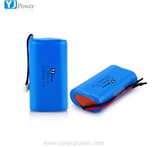 Compatible 2P 2S 18650 li-ion battery lithium digital camera batteries rechargeable video cell