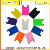 Ex-Factory Price silicone mobile phone card case
