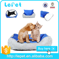 Private label Removable cover pet dog bed washable warm pet bed for cat dog