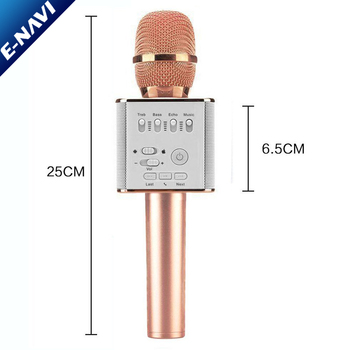 Shenzhen USB Wireless Microphone Q9 8 Channel Speakers For Party KTV Sing