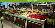 Supermarket customized vegetable and fruit shelf iron price tag holder rack/frame/arm/stand/support/brace/bracket