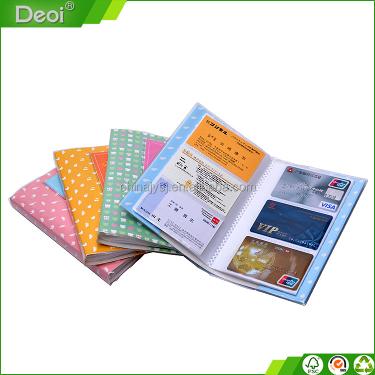 High quality hard plastic Id card case/Id card holder