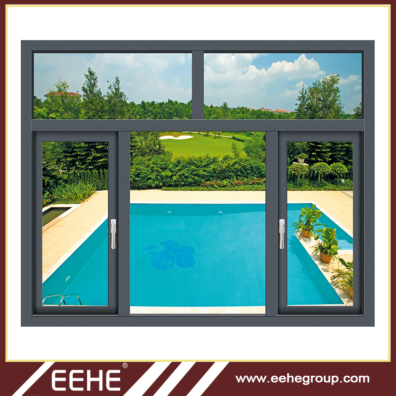 Alibaba aluminum Alloy window and Horizontal Opening Pattern Aluminum Window