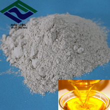 water treatment food grade activity white bleaching clay for sunflower seed oil