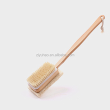 High quality double sides loofah cleaning body scrub brush