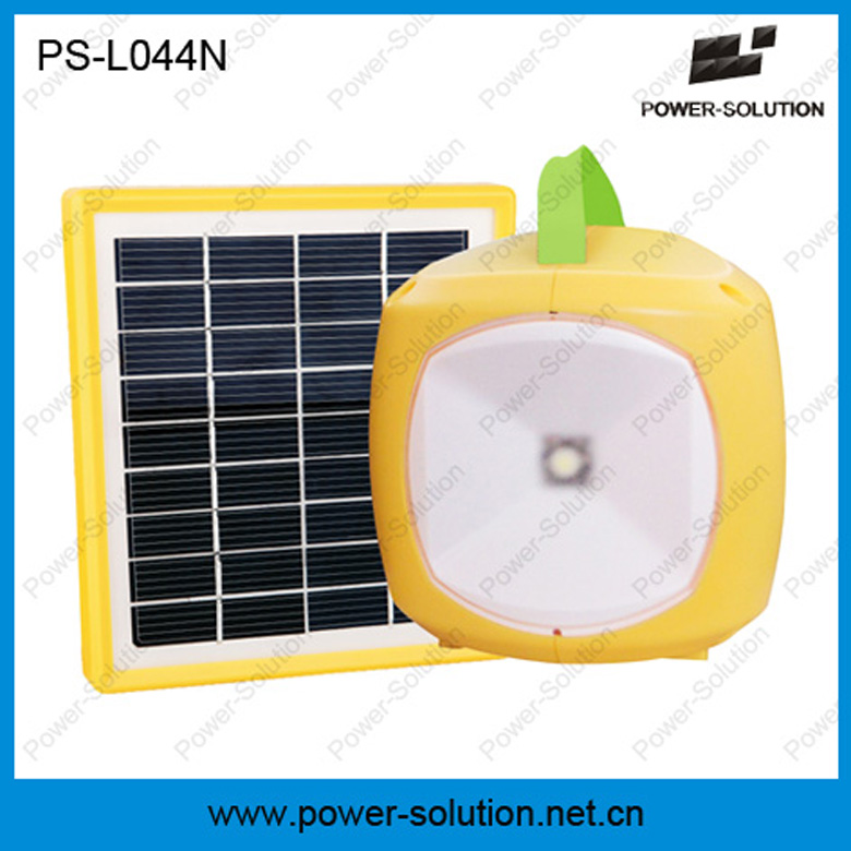 Lithium Battery! 1w led lamp solar lantern body with mobile charger for outdoor lighting