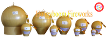 "Happy fireworks 1.3G Professional Display Shells 6"" shells celebration UN0335 fireworks 1.1G"