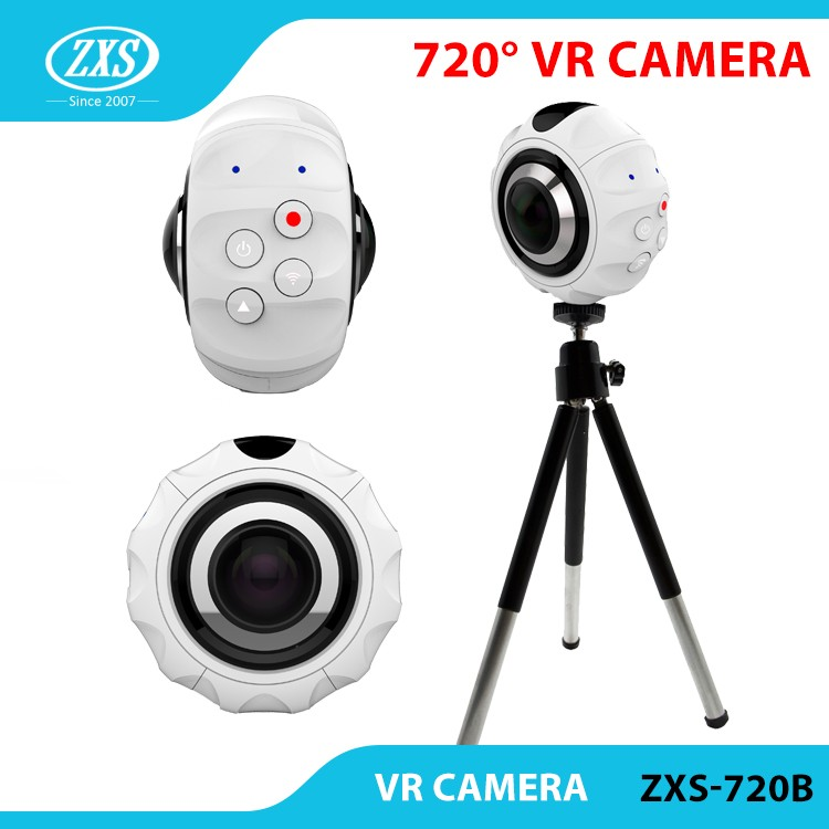 4K best action video camera SPORTS CAM 360 wide Angle helmet sport action camera ZXS-X720