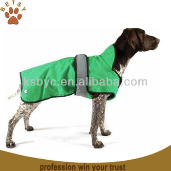 Four Seasons 2-in-1 green color dog coat