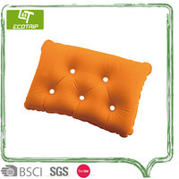 Wholesale promotion camping bean bag neck pillow
