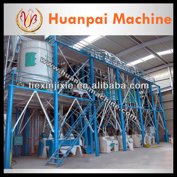 70T complete set wheat flour mill