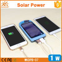 new products 2016 Dual USB 8000mah laptop Solar Charger, Portable solar panel for smart phones and powerbanks