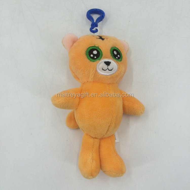 custom stuffed keychain plush toys feisty pets and animals in direct factory