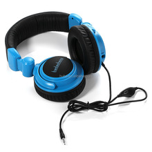 Tablet MP3 music foldable stereo headphone PC gaming headset powerful bass with detachable mic