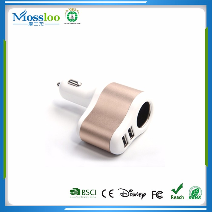USB Car Charger 4 Ports,Fast Charging Mobile Car Charger,Car Battery Charger