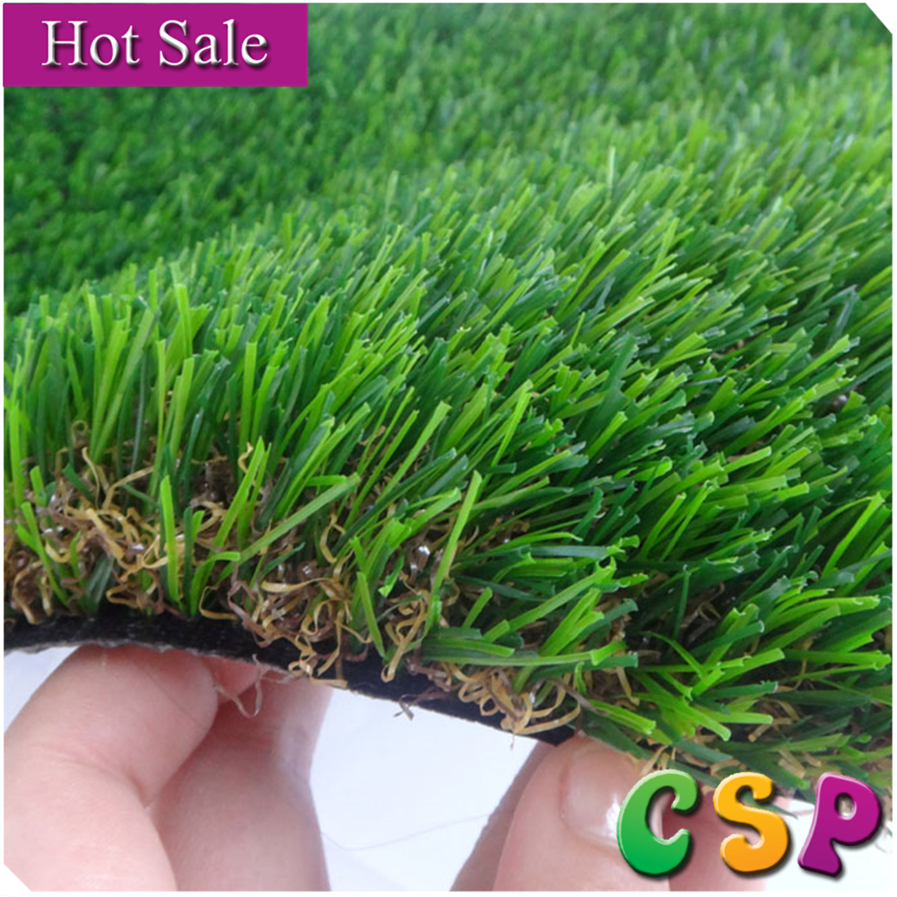 factory direct sales UV resistance 25mm fake landscape artificial grass prices