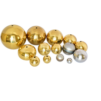 large size hollow copper balls /brass balls for decoration