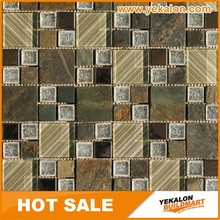 China Supplier Wholesale Best Quality Polished glass mosaic tile