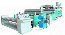 Hot 3-layer plastic cast film extrusion making machine
