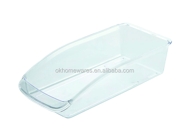 r frig rateur tiroir empilable en plastique transparent r frig rateur bin r frig rateur. Black Bedroom Furniture Sets. Home Design Ideas