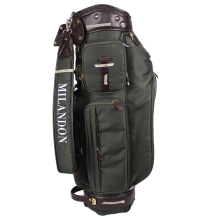Durable canvas travel pouch golf bag