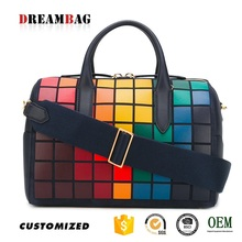 Guangzhou factory custom design new model oe leather handbags