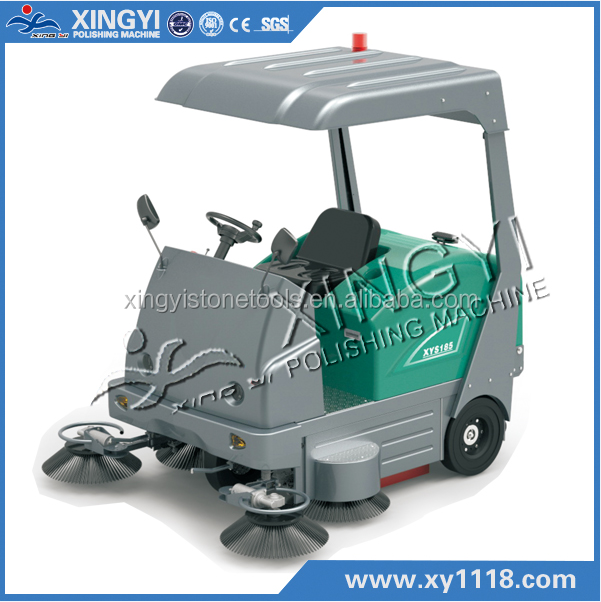 XYS185 Battery type sweeping machine, hand-push type sweeper, hand-propelled floor sweeper