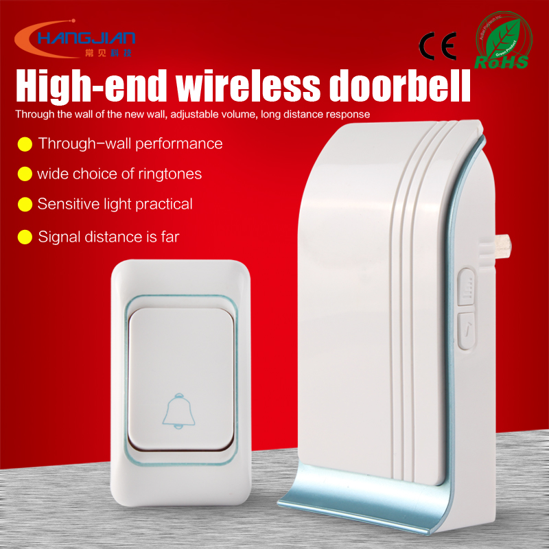 Home or shop used doorbell high quality speaker components wireless doorbell