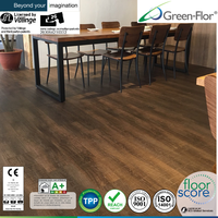 Glueless Click lock Nature wood pattern plank LVT vinyl pvc wpc flooring