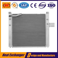 China Aluminum Plate Type Tractor Oil Cooler