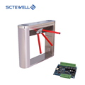 electric tripod turnstiles gate with security rfid access control