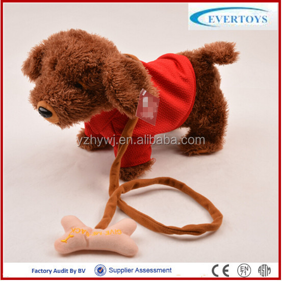mechanical dog plush toys/singing dog musical plush toy