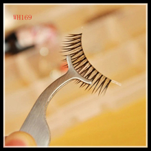 Hot sale Multifunction eyelashes Tweezers with Stainless Steel WH169