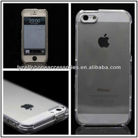 Clear Mobile Phone Transparent Crystal Case For Apple Iphone 5G 5S