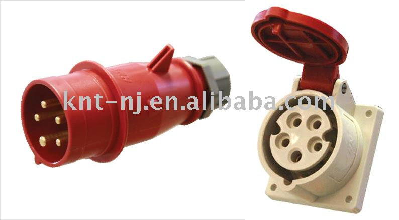 16A 5P Industrial Plug and Socket