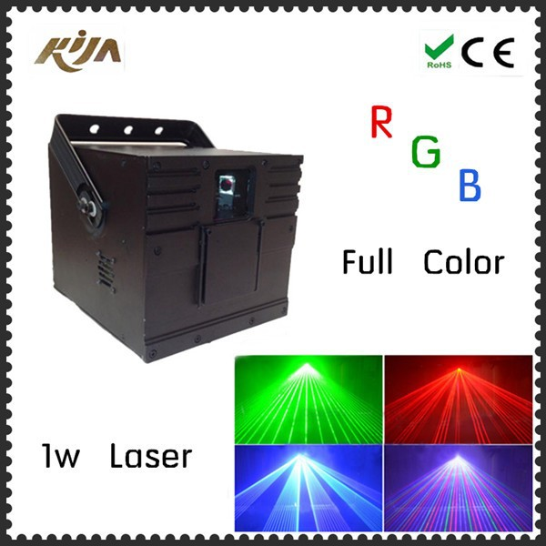 Cheap 1W rgb laser projector dj / Red Blue Green laser show / disco laser lights