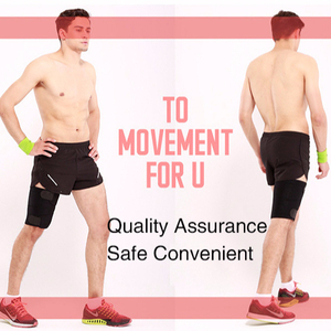High quality Adjustable Neoprene Leg protection Thigh Compression Wrap Groin Thigh Support