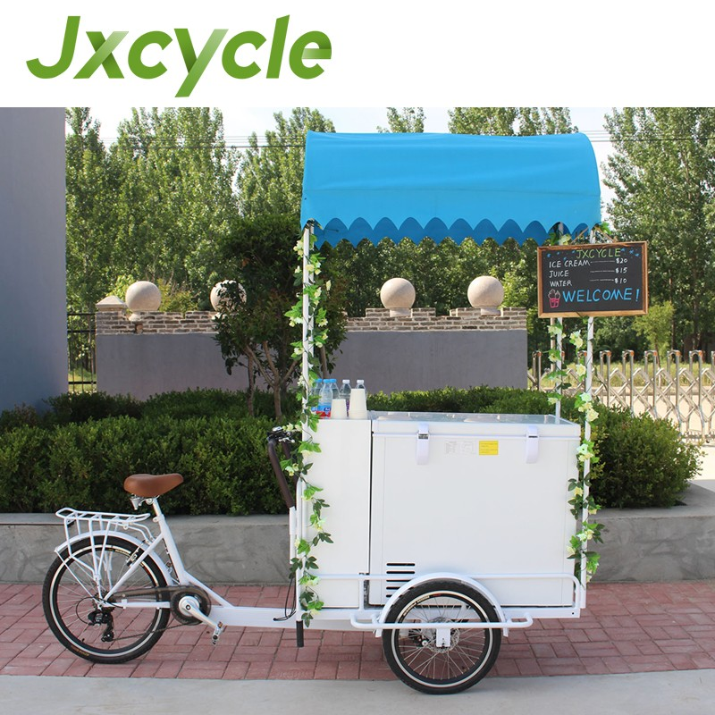 Electric cargo tricycle/trike for Ice Cream popsicles