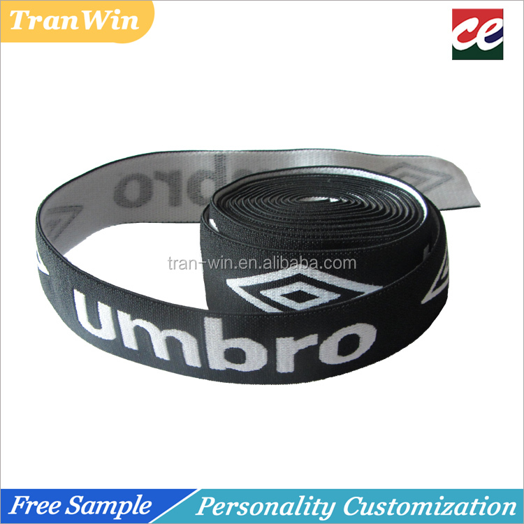 Customized soft underwear jacquard elastic band for men
