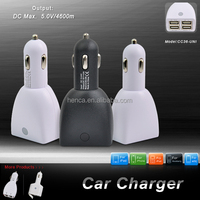 High quality ! 5.5A four usb port car charger for cell phone
