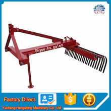 New style professional raker mounted 3 point tractor raker for sale
