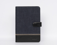 For iPad case with wrist strap, jeans tablet case for iPad mini