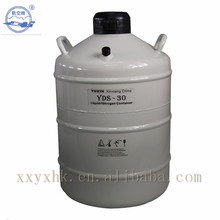 Portable Liquid Nitrogen Storage Container For Transportation Use